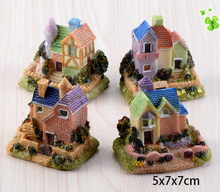 DIY Micro Fairy Garden Accessories Miniature Mini House for Micro landscape Decor