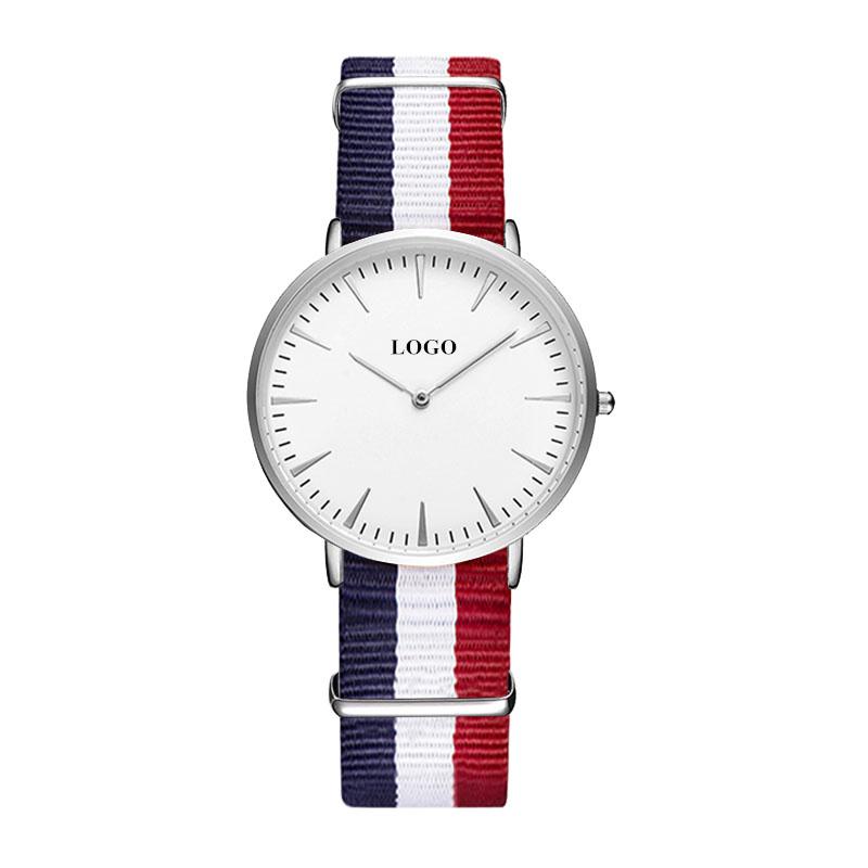 Custom Your Own Watch Women OEM Logo Ultra-thin Personalized Watch Branding Company Name Engraved Wrist Watch