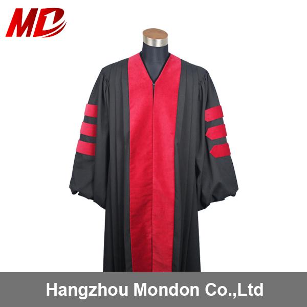 Custom Doctor Graduation Gown-deluxe Doctoral Graduation Gown ...