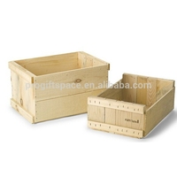 2018 hot sales unique handmade carving fruit craft decor wholesale boxes/basket/case ornament wooden apple crates made in China