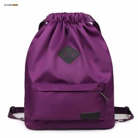 lightweight drawstring backpack bagpack bag can put tablet PC