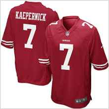df1e9be8f Get Quotations · NFL Nike San Francisco 49ers Colin Kaepernick Youth  On-field Jersey Size LG