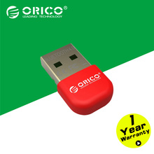 ORICO BTA-403-RD Mini Bluetooth 4.0 Adapter Support Windows8/Windows 7/ Vista/XP-Red