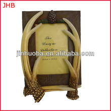 "<span class=keywords><strong>Resina</strong></span> palchi di cervo con dimensioni: 5""x 7"" photo frame"