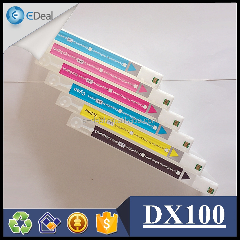 Refill ink cartridge for Fujifilm Frontier DX100 empty cartridge with chips
