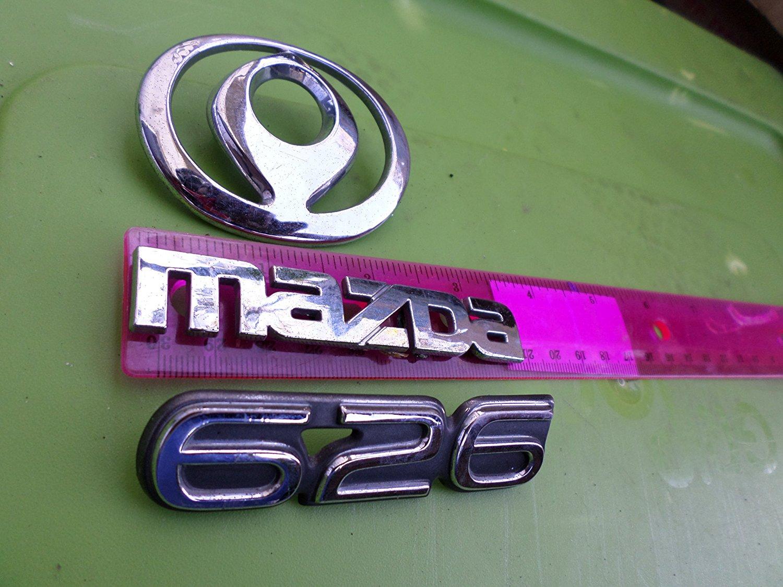 Genuine New MAZDA GLX Boot Decal Arrière Gris emblème pour 626 1993-1997 MX-6 1992-97