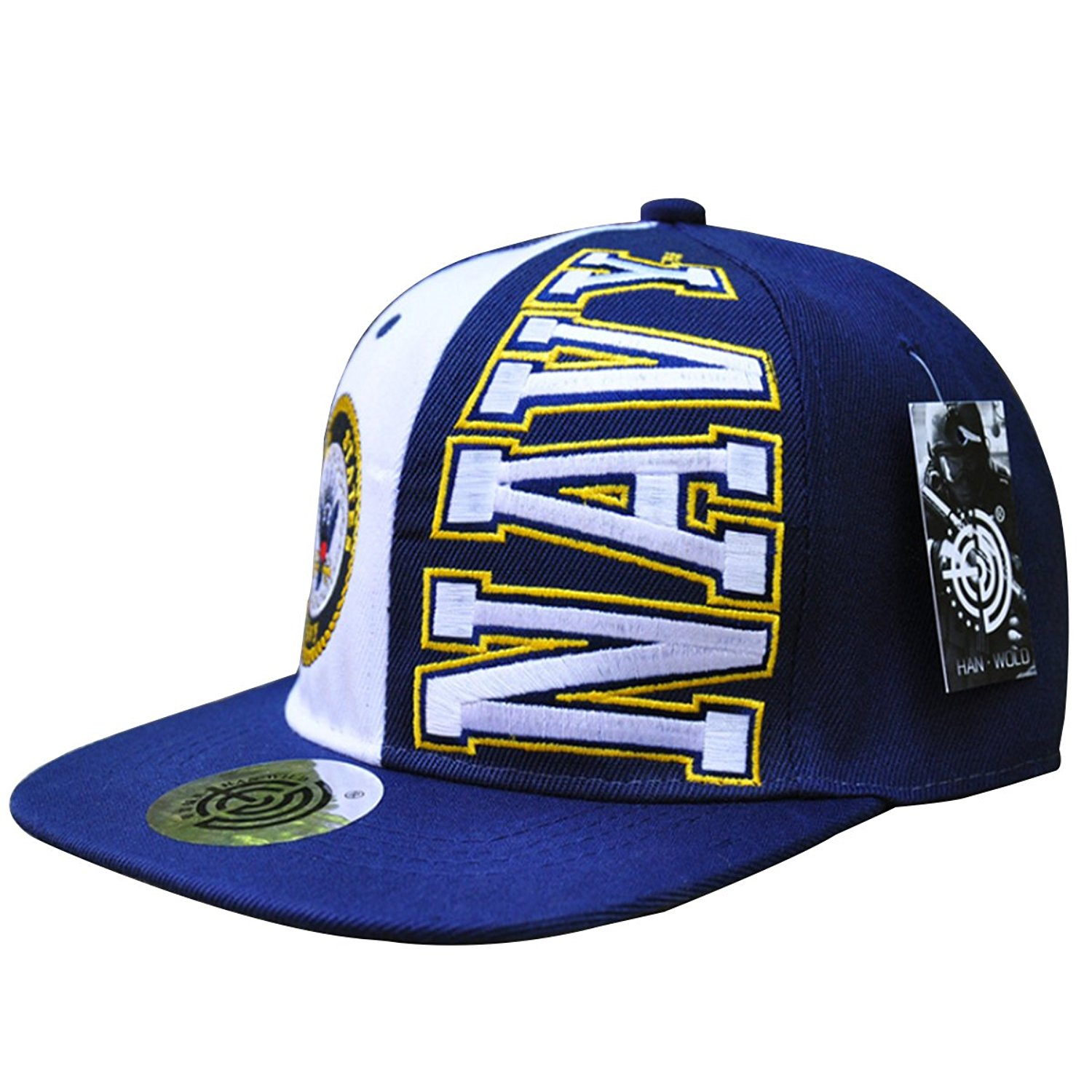 ba3a0ccd7b9 Get Quotations · Tphty Hat US Navy 3D Embroidery Hip Hop Baseball Cap US  Navy US Army Caps
