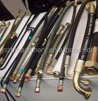 Shantui Dozer Hose,Hydraulic Hose Assembly,Select Imported Hose ...