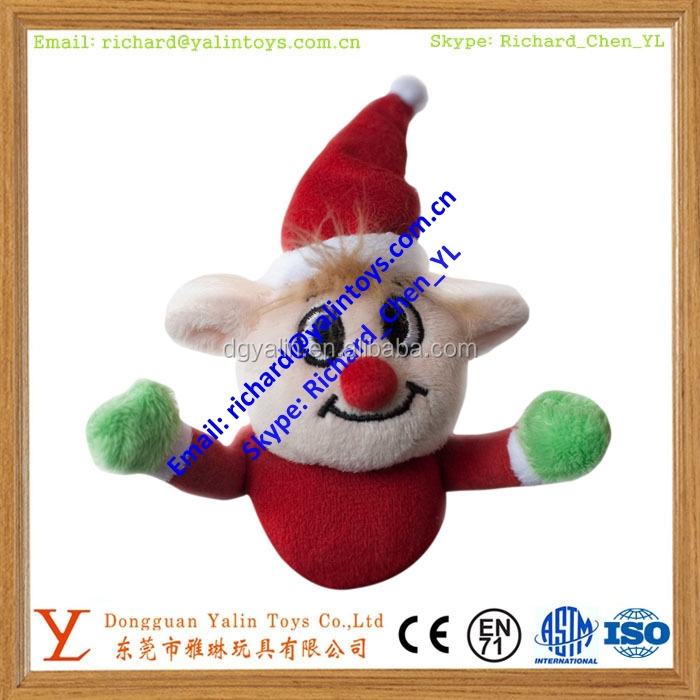 Christmas elf toys handmade plush toy hand puppet