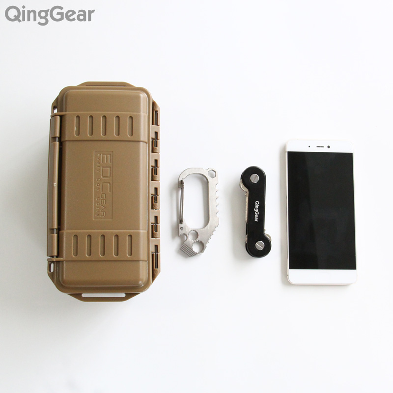 QingGear SKEY Key Organizer Holder door Key Pocket Organization Tool Key Clip With pocket Clip 3 Sets Screw