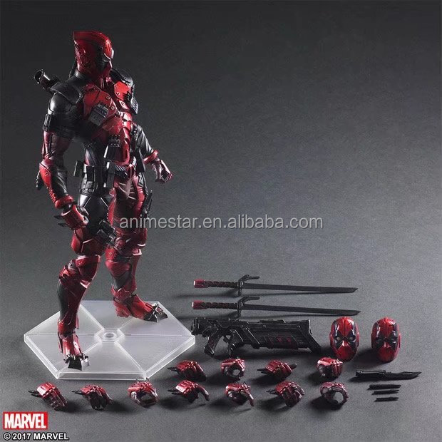 Popular Children's Toys PLAY ARTS Marvel Hero Deadpool Anime Toy Action Figure Wholesale