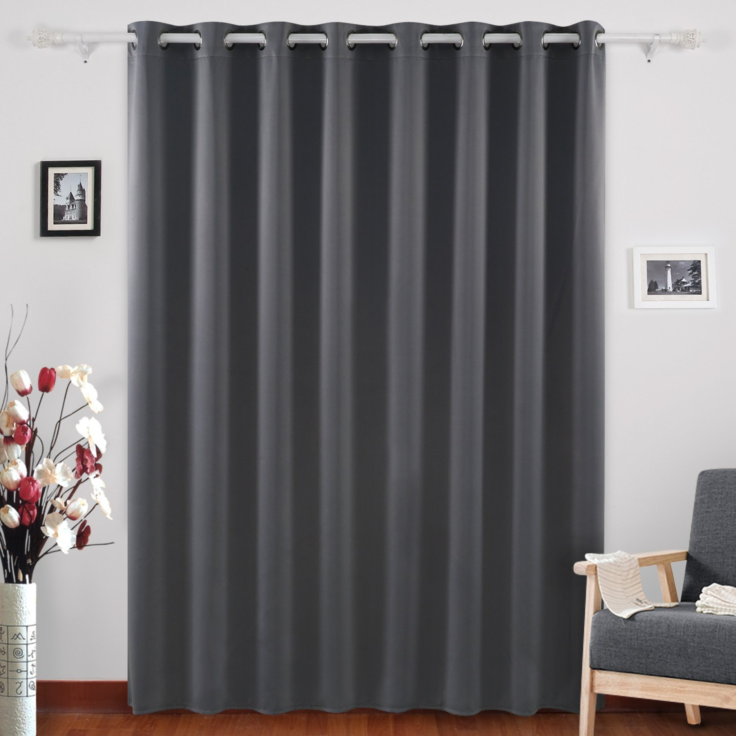 Get Quotations Deconovo Blackout Curtains Grommet Top D Wide Width For S Room 100 X 95 Inch