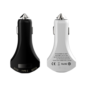 Dual USB Car Charger Quick/Fast Charge Mobile Phone Car-charger adapter for iPhone 7 6s Samsung Lg Xiaomi Car Phone Charger
