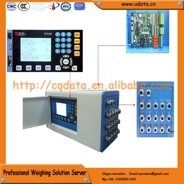 Highway Toll Charging Electronic System of Continuous Weighing Platform