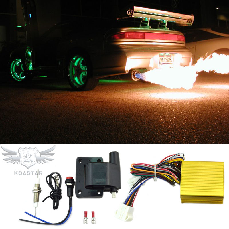 Universal flamethrower exhaust ,car launch control flame thrower,flame thrower exhaust