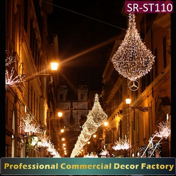 custom commercial outdoor led christmas decorations motifs cross street light - Professional Outdoor Christmas Decorations