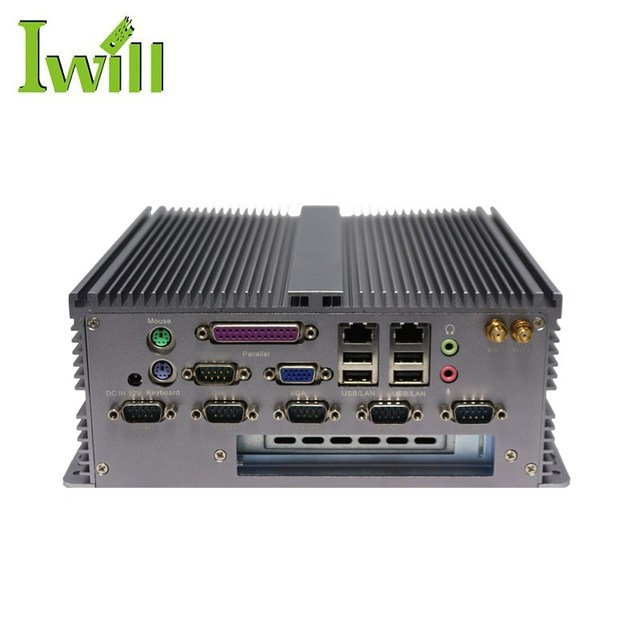 X86 Embedded Barebone System Ibox-301 D2550 Industrial Win Xp Mini Pc With  Pci Slot - Buy X86 Embedded Barebone System,Industrial Mini Pc,Mini Pc With