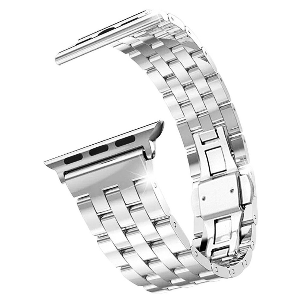 TOOGOO(R) Stainless Steel Metal Strap Band 5 Ball Link Bracelet for Apple Watch iWatch (42mm)