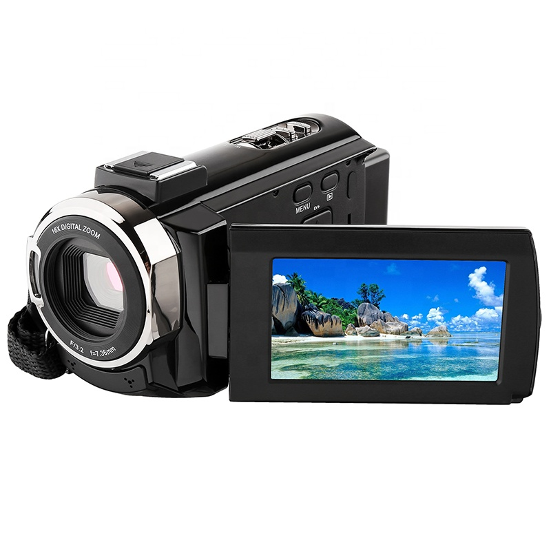 48MP 3.0 inch Touch Screen Night Vision IR 16X Digital ZOOM professional wifi video camera 4k