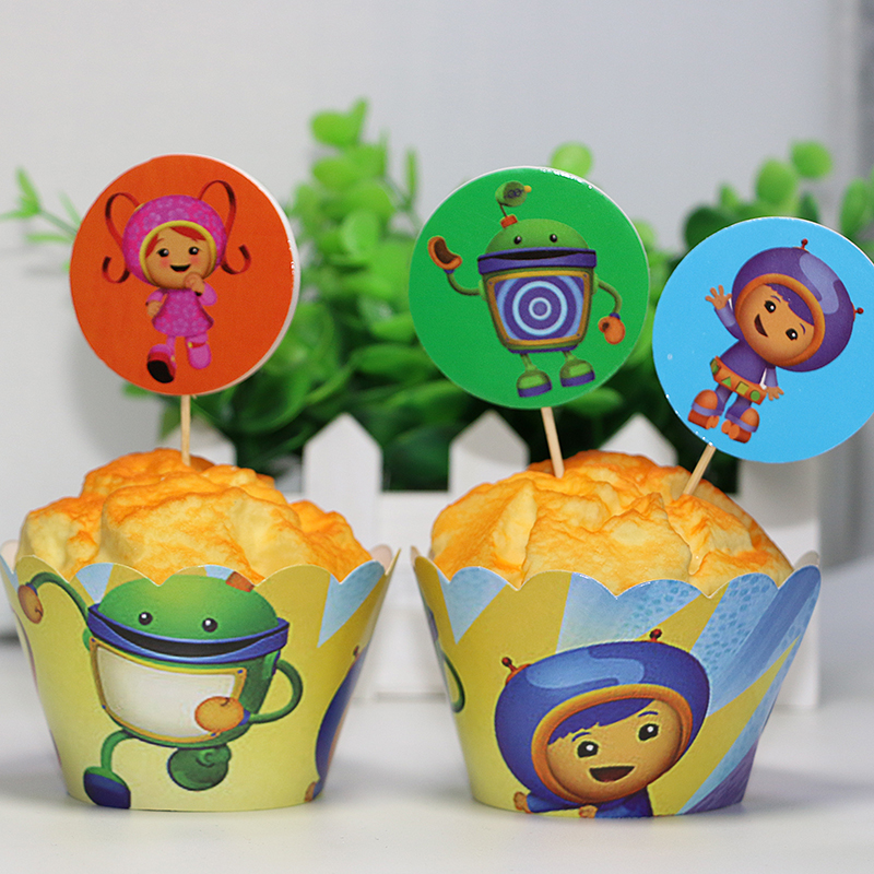 Umizoomi Cake Toppers Uk