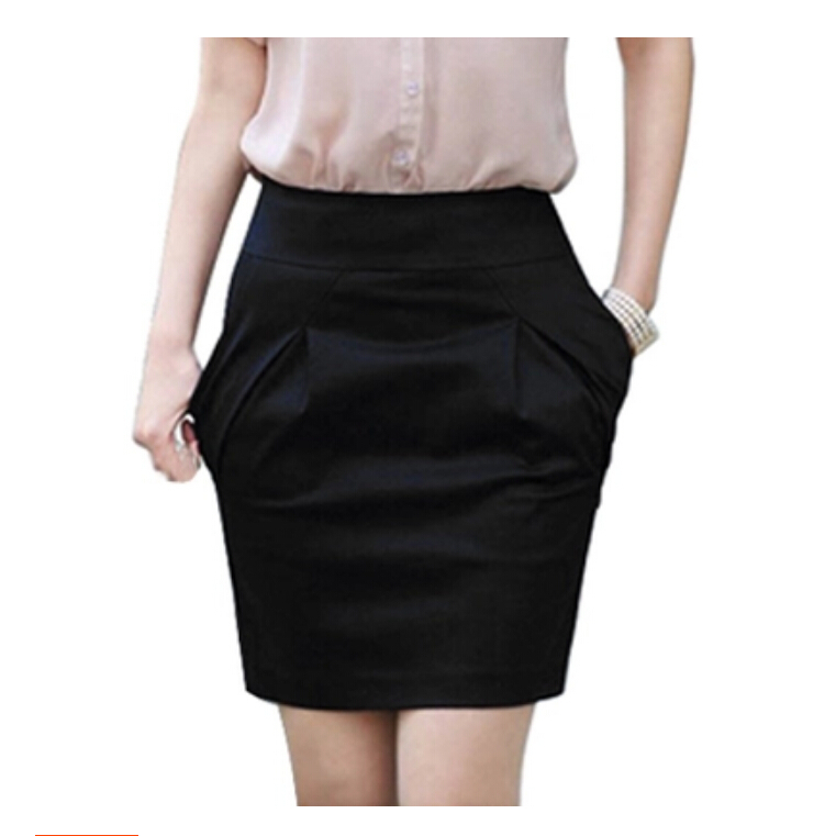 2015 Fashion Skirts Women Autumn Summer Mini Skirt High Waist Pencil Skirt Elegant OL Formal Skirts For Women