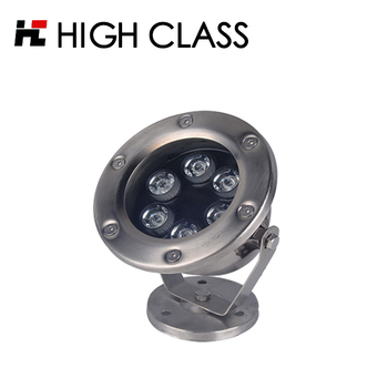 Outdoor unique stainless steel swimming pool ip68 mini led underwater light