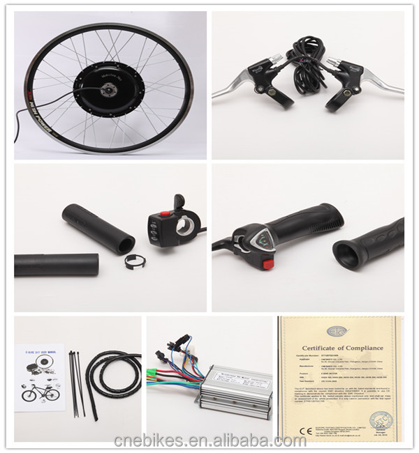 CE approved! pedelec motor 350w/500w/750w rear drive ebike conversion kit