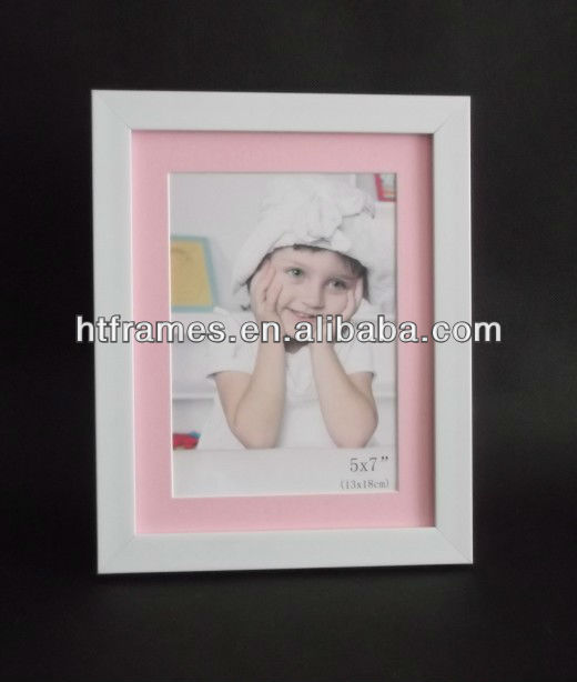 white plastic frame for 5x7 photo with pink mat buy white plastic frameplastic mat picture framefunny baby photo frames product on alibabacom