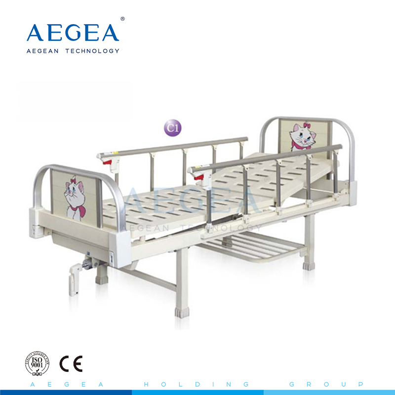Ag Cb001 Cartoon Pattern Hospital Children Pediatric Department Used Kids  Backrest Adjust Cot Medical Iron Child Bed For Sale   Buy Iron Child ...