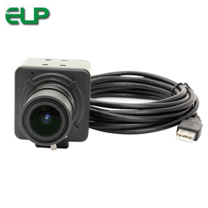 ELP Free driver IMX179 8MP USB Camera CS 2.8-12mm Varifocal USB CCTV Webcam