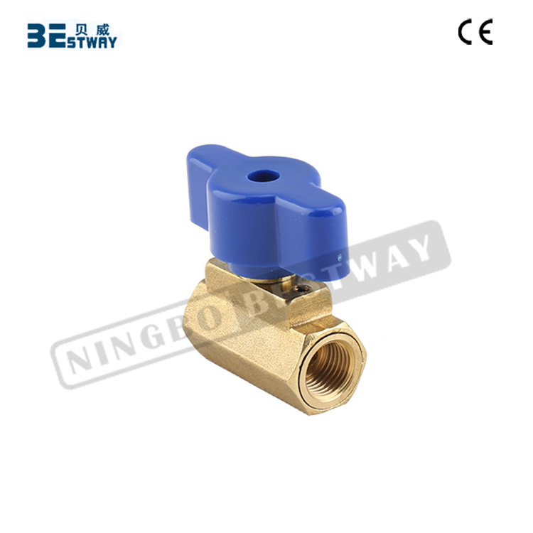 BWVA Factory offer directly competitive price mini ball valve two way