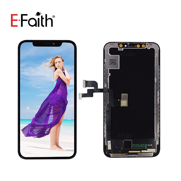 E-faith Amoled Lcd Digitizer Touch Screen Replacement Flexible Oled  Displays For Iphone X - Buy For Iphone X Lcd,Lcd For Iphone X,Flexible Oled