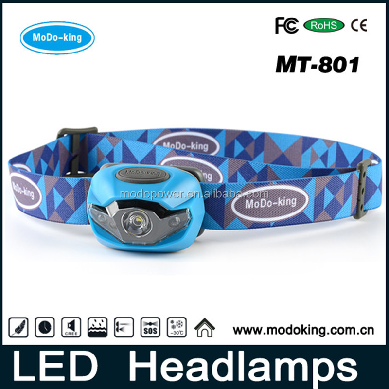 LED Headlamp Camping Hunting Fishing lights with 90 Lumen