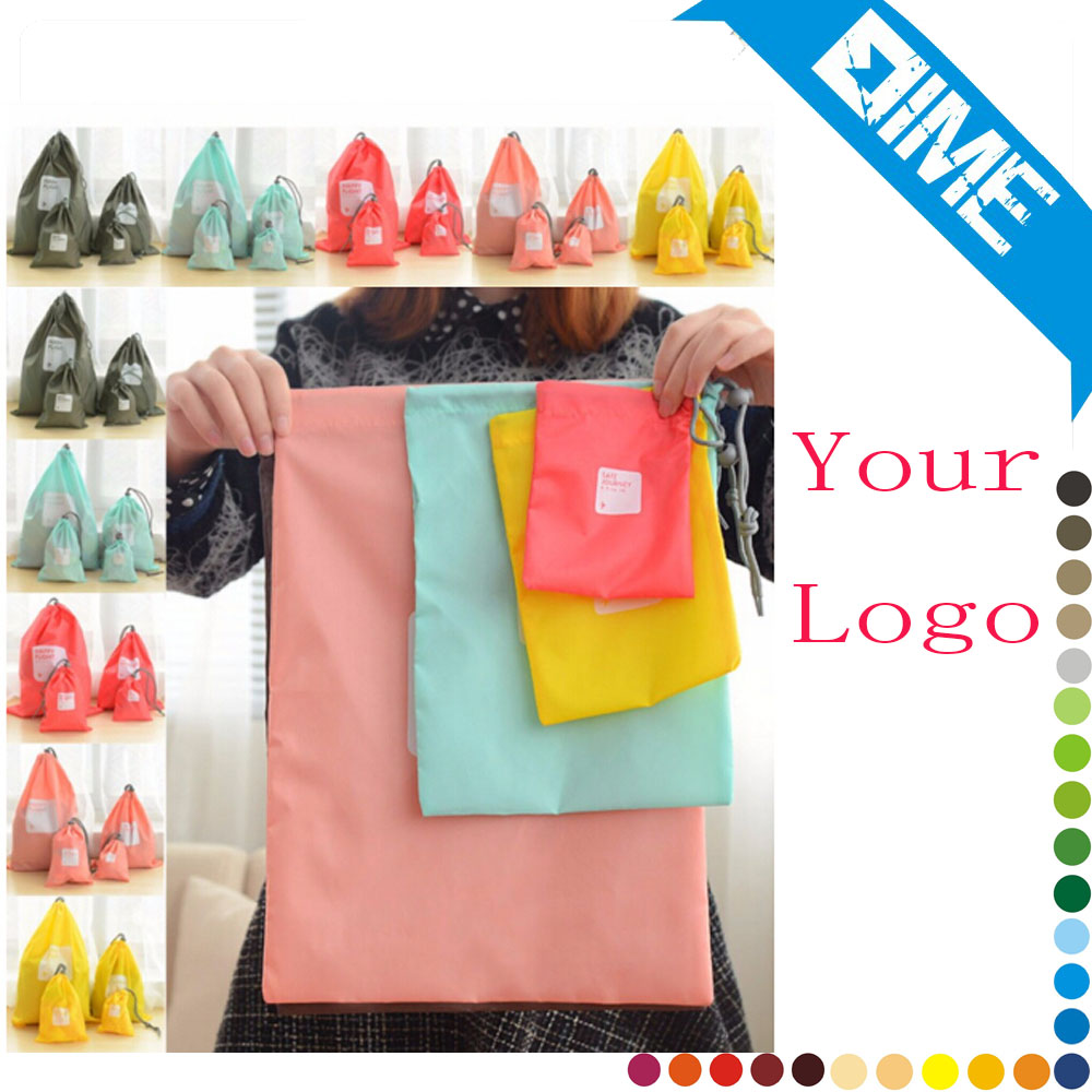 African Shoes Cheap Wholesale Custom Polyester Drawstring Bag