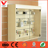 Wall mounted display cabinets/glass display systems/retail wall glass counter display