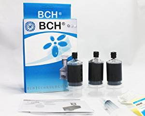 BCH Premium Universal Black Ink Cartridge Refill Kit for HP, Canon, Epson, Lexmark, Brother, and Dell