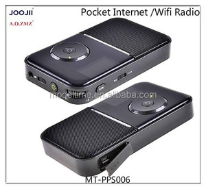 Pocket wifi radio receiver internet radio