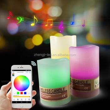 Zengge Brand Solar Candle Light Bulbs Bluetooth Magic Light BLE Free App