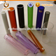 annealing colored pyrex glass tube pipes