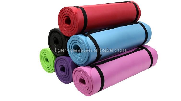 Green Nbr 9mm Thick Yoga Mat Buy Yoga Mats Tpe Yoga Mat