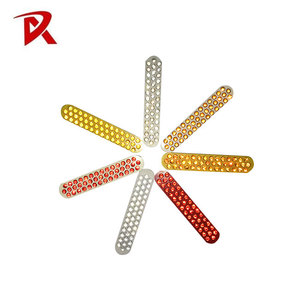 Driveway Durable Visible Warning different quantity glass bead safety reflectors