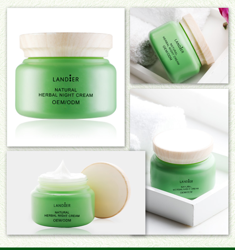 Skin Care Manufacturer Glutathione Whitening Naive Herbs Night Cream for Women