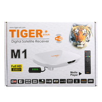 Chipset Montage CS8001S TV box Tiger M1 free to air box support wifi