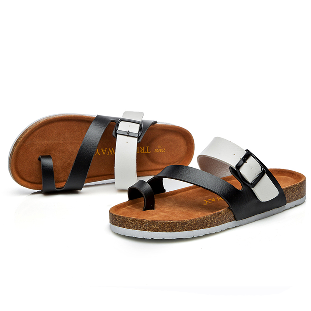 aa7c37d42fe2 2018 Vento sandals for men slippers cheap wholesale flip flops cork footbed  sandals comfortable slippers for lovers C1034