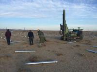 Mz130y-2 Hydraulic Solar Pile Driver Soil Nailing Drilling Rig ...