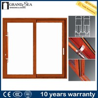 Foshan manufacture soundproof beveled glass windows for gate