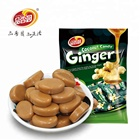 Sweet Ginger Sweets Oem Halal Real Coconut Milk Mixed Organic Healthy Sweet Ginger Coconut Hard Candy