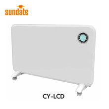 Electric wall mounted convection panel heater