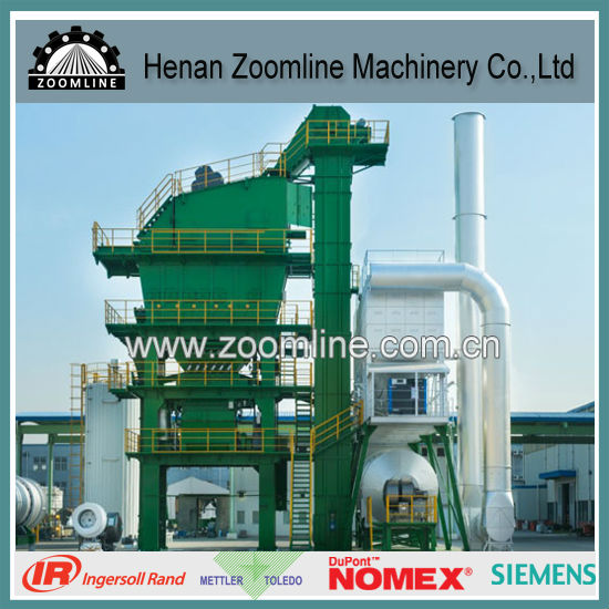 LB2500 200t/hr Asphalt Batch Mix Plant