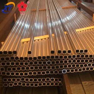 Factory Wholesale Price 10mm extruded aluminium tubing factory & polish elliptical oval tapered aluminium 6061 t6 tube